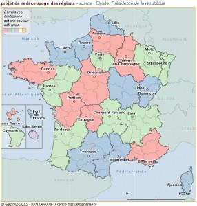 carte reforme territoriale